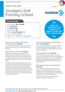 Case Study from Goodyers End Primary School (PDF)