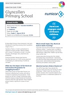 Case Study from Glycollen Primary School (PDF)