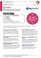 MyMaths Case Study - Gordon Primary School (PDF)