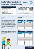 Case Study from Bartons Primary School: The success of using Big Ideas