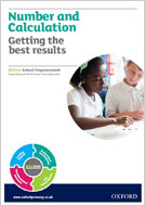 Number and Calculation: Getting the best results report (PDF)