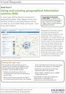 A Level Geography: Using and creating geographical information systems