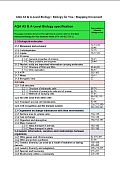 Advanced Biology For You 2nd Edition AQA Specification Matching Grid