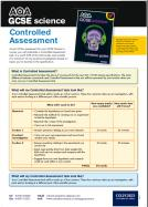 AQA GCSE Science Controlled Assessment and Exam Questions Poster (PDF)
