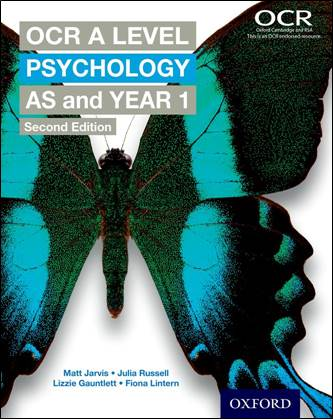 OCR A Level Psychology Year 1 and AS Student Book