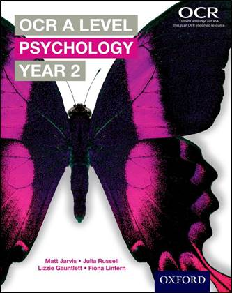 OCR A Level Psychology Year 2 Student Book