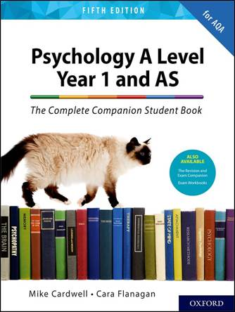 The Complete Companion Student Book for AQA Psychology A Level Year 1 and AS Fifth Edition