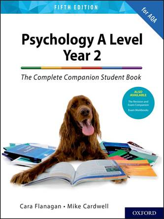 The Complete Companion Student Book for AQA Psychology A Level Year 2 Fifth Edition
