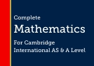 Oxford Mathematics for Cambridge International AS & A Level