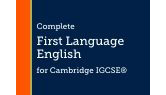 Part of Cambridge IGCSE English First Language