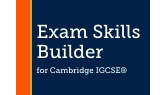 Part of Exam Skills Builders for Cambridge IGCSE English