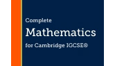 Part of Core and Extended Mathematics for Cambridge IGCSE