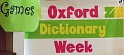 Vocabulary building with Oxford Dictionary Week