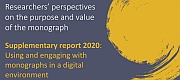 OUP and CUP publish report on the use of monographs in a digital environment