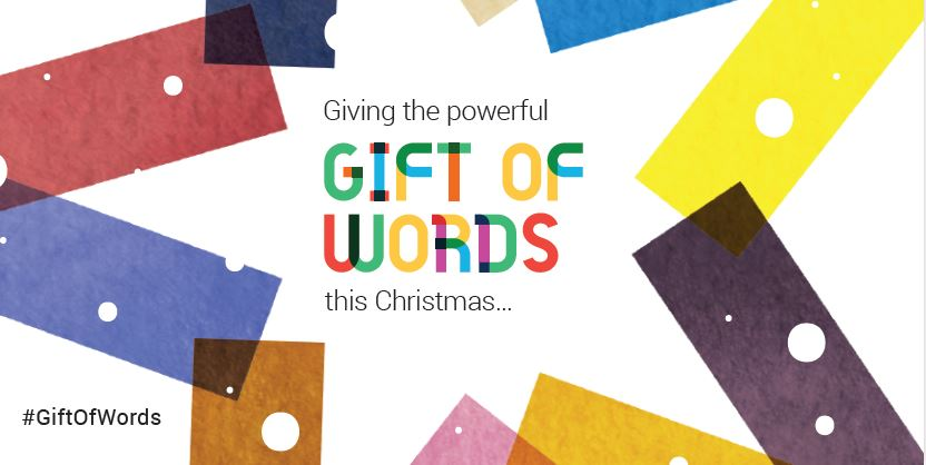 Inspiring people to give the gift of words