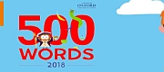 500 WORDS competition launches to find 2018's Children's Word of the Year