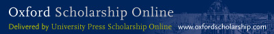 Oxford Scholarship Online (all Collections)