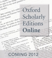 OUP announces major online project: Oxford Scholarly Editions Online