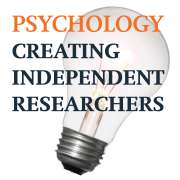 Creating Independent Researchers - Curriculum design for undergraduate research methods and statistics