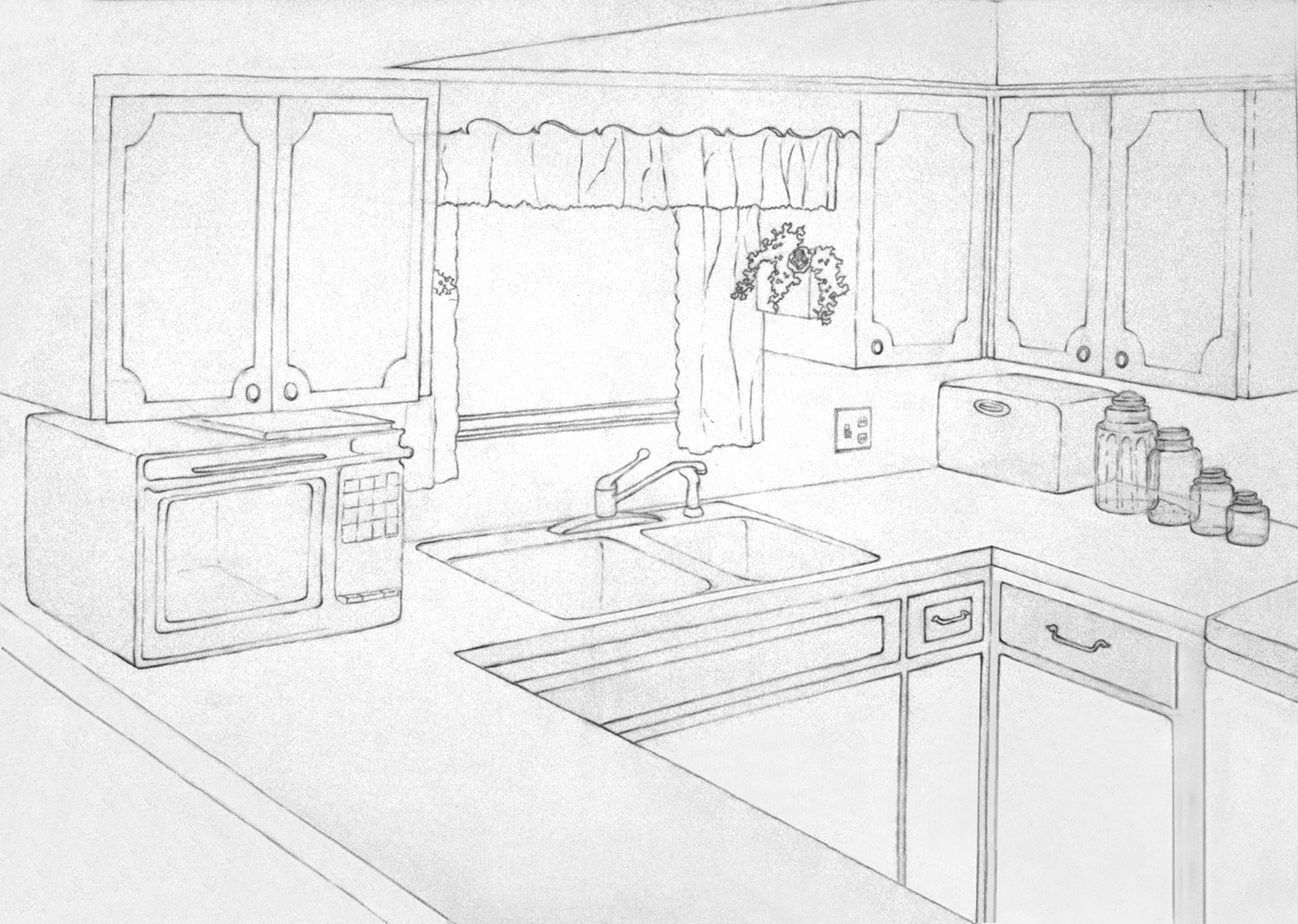 Drawing A Room Or Space Or Building From Direct Observation In 2 Pt