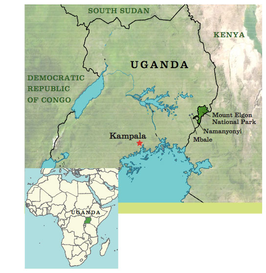 Chapter 6 chapter 6 61 map of uganda by dan cole gis coordinator smithsonian national museum of natural history in 2012 delicious peace coffee gumiabroncs Images